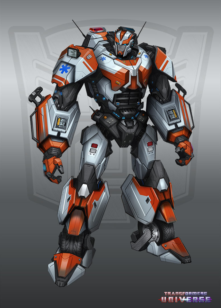 Transformers Universe Game New Character Concept Art ...