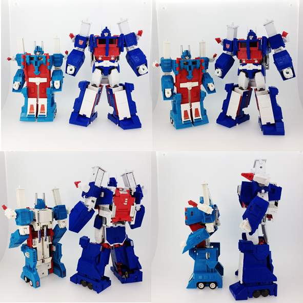 VO Masterpiece Ultra Magnus - New Comparison Images with G1 Magnus ToyUltra Magnus Toy