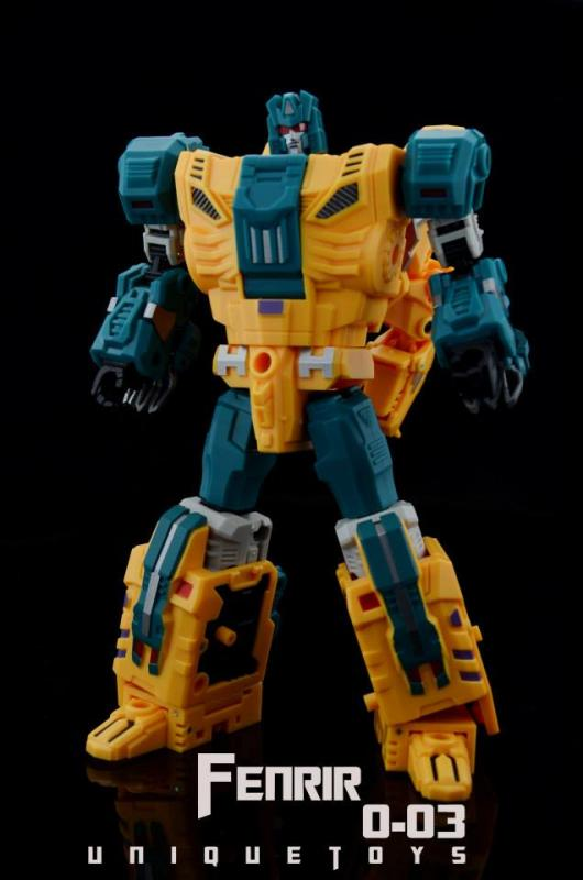 Unique Toys Fenrir / Sinnertwin Images - Transformers News