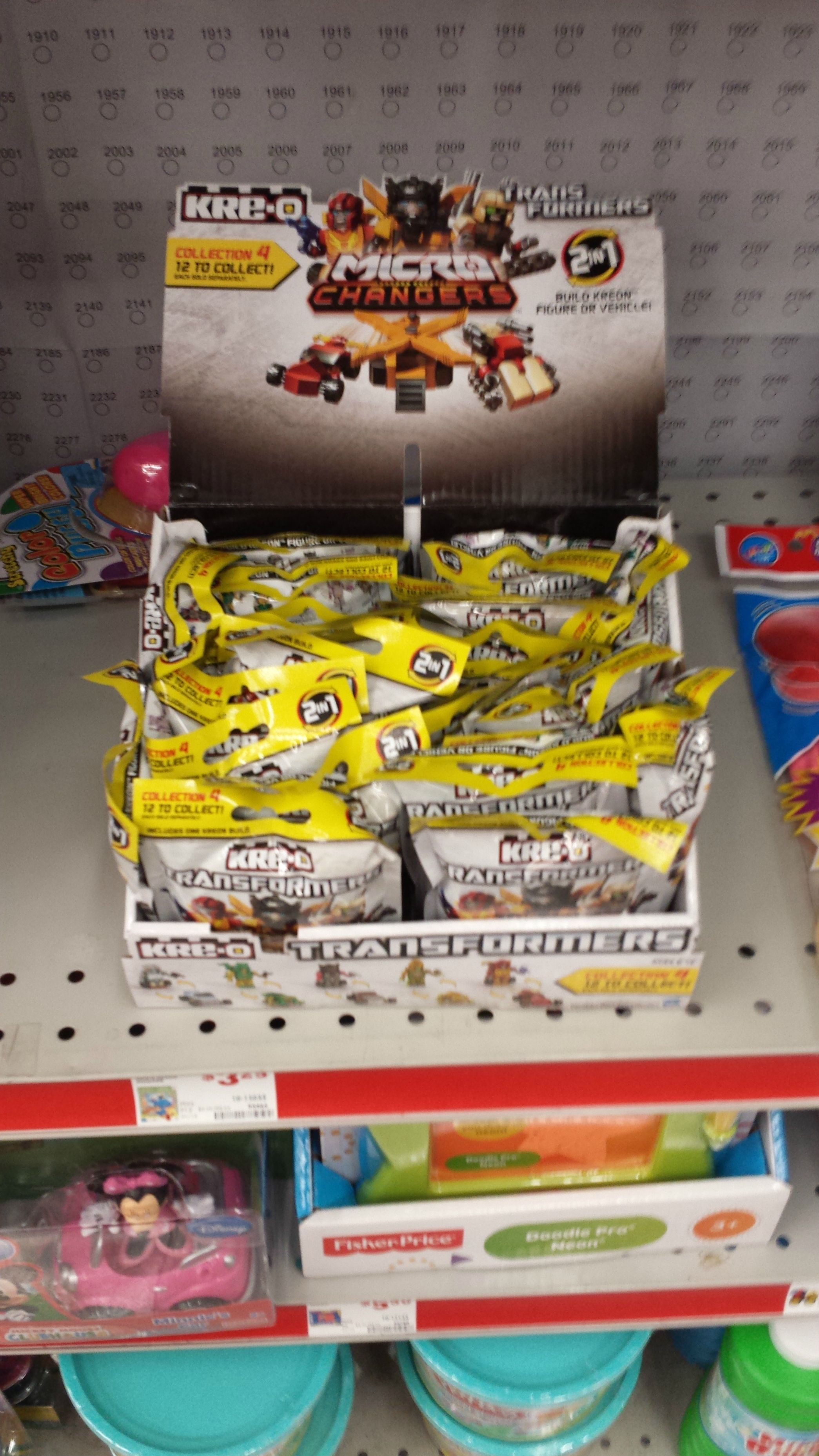 Kre O Kreon Micro Changers Wave 4 Sighted In Family Dollar