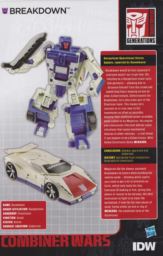 Combiner Wars Deluxe Wave 3 (Protectobots) Extended Bios ...