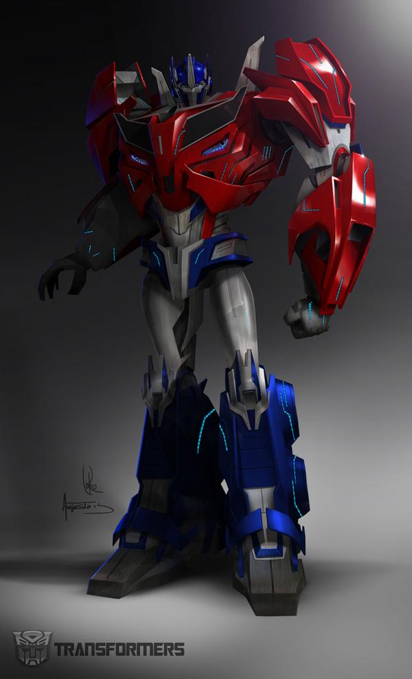 Augusto barranco shares optimus prime concept art - Optimus prime dessin ...