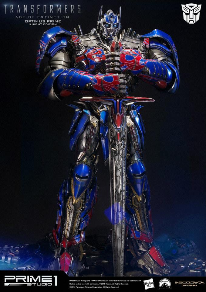 Transformers: Age of Extinction Optimus Prime Knight ...