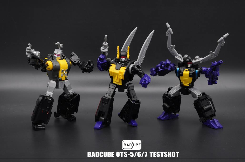 Badcube Masterpiece Insecticon Color Test Shot Pictures