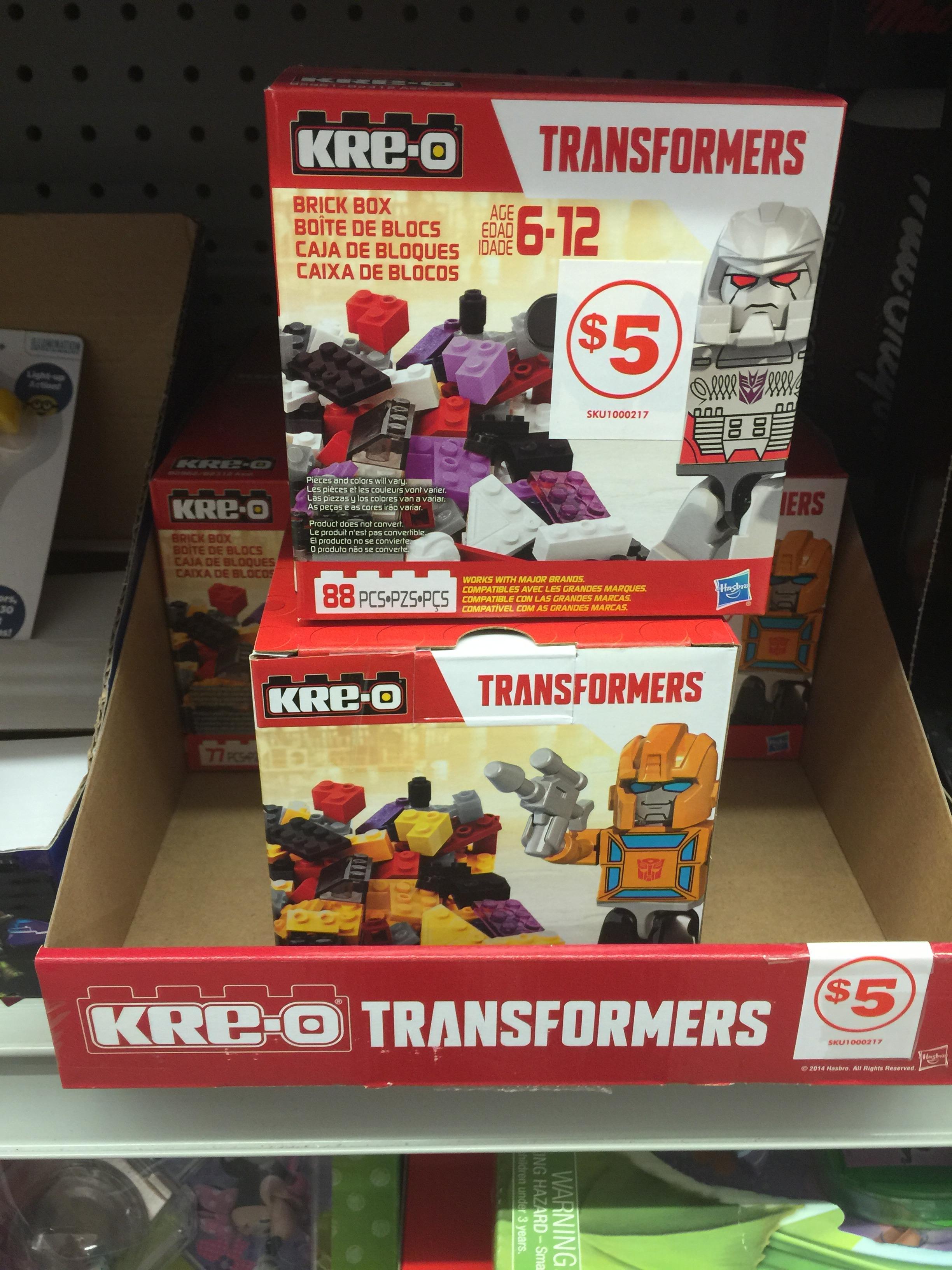 Kre O Transformers 88 Piece Brick Boxes Transformers News Tfw2005