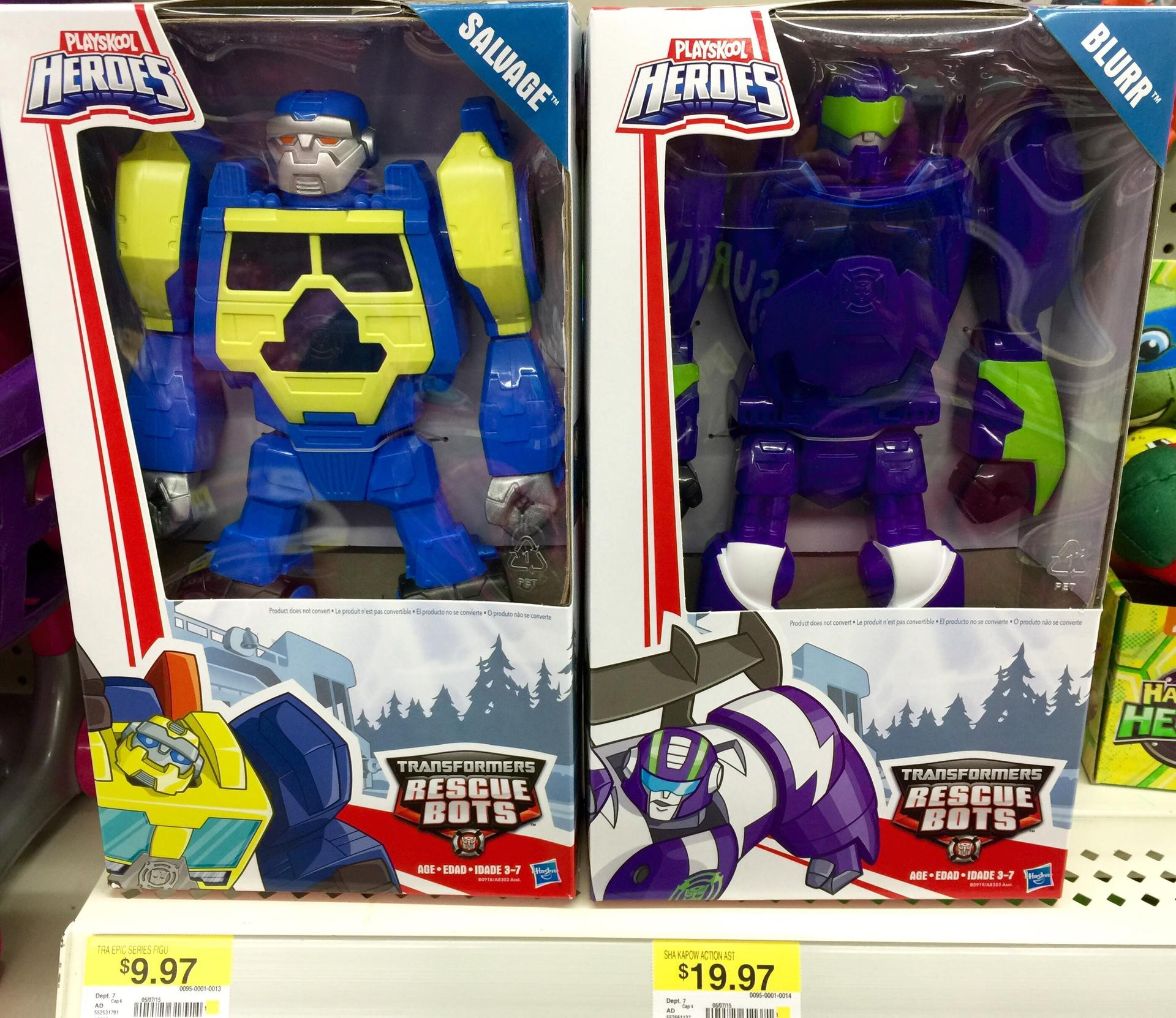Rescue Bots Epic Salvage and Blurr