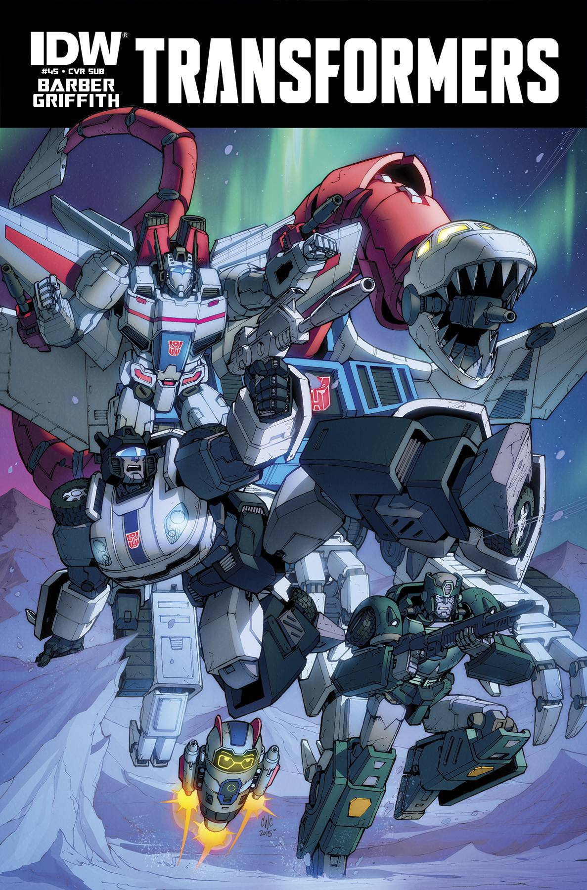 IDW Transformers Comics for September 2015 - Transformers ...