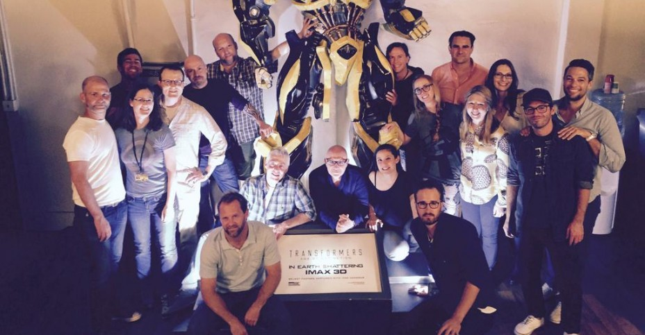 Transformers Cinematic Universe Writers Room Team Photo