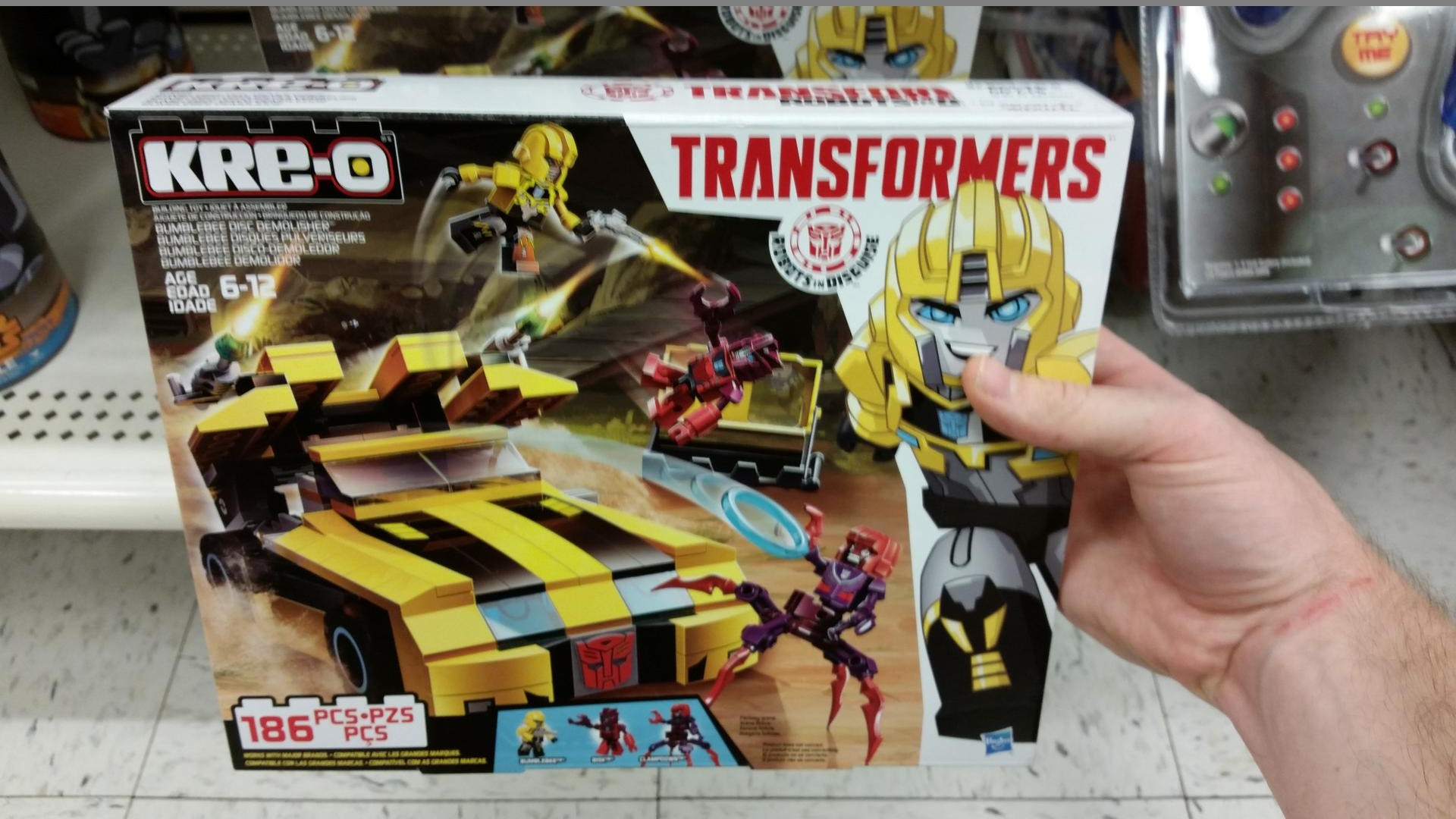 Robots In Disguise Bumblebee Disc Demolishor Set Found In The Us
