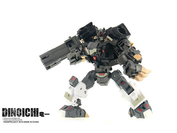 [FansProject] Produit Tiers - Jouet Saurus Ryu-oh aka Dinoking (Victory) | Monstructor (USA) Dinoichi4