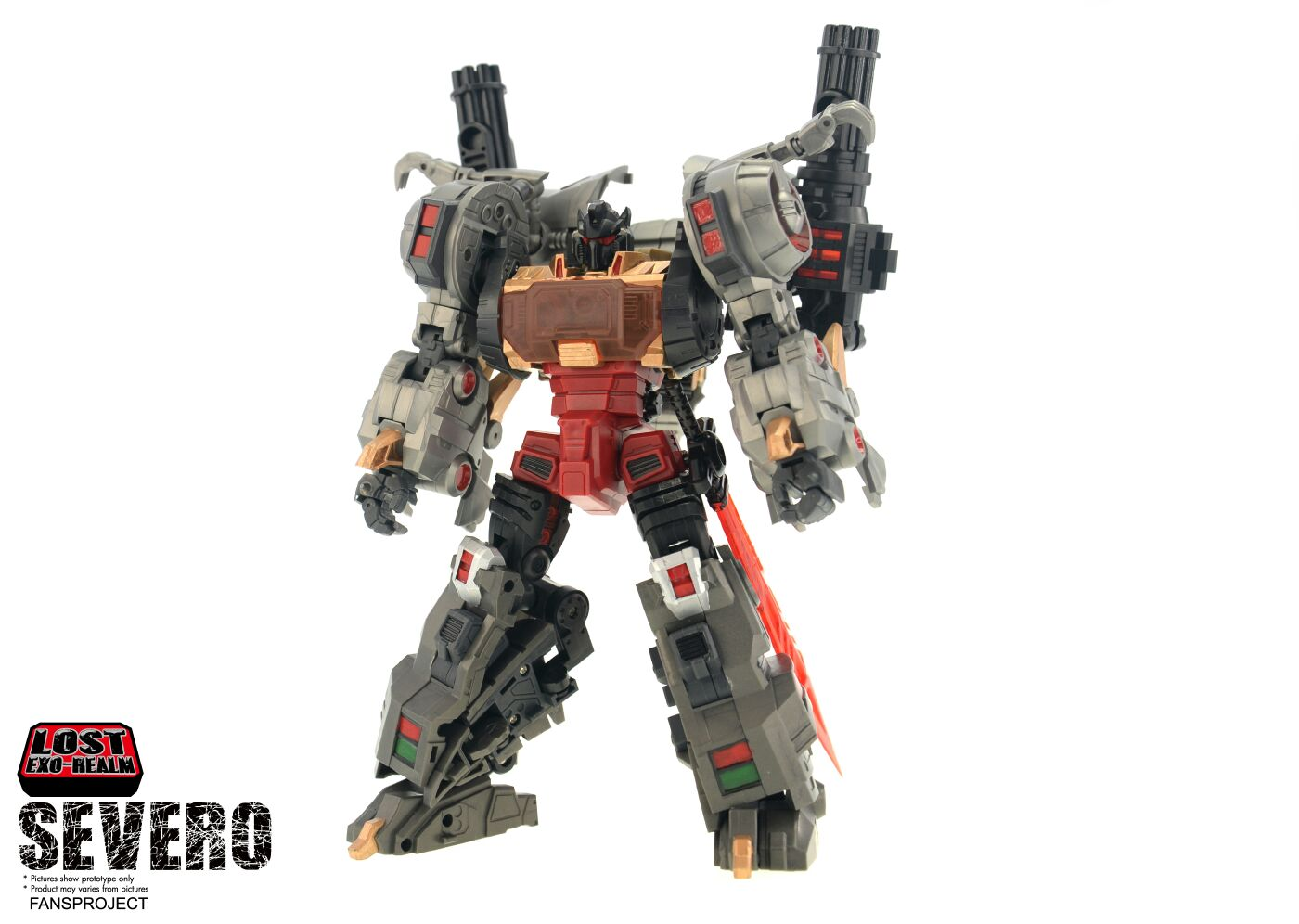 [FansProject] Produit Tiers - Jouets LER (Lost Exo Realm) - aka Dinobots - Page 2 Severo-1
