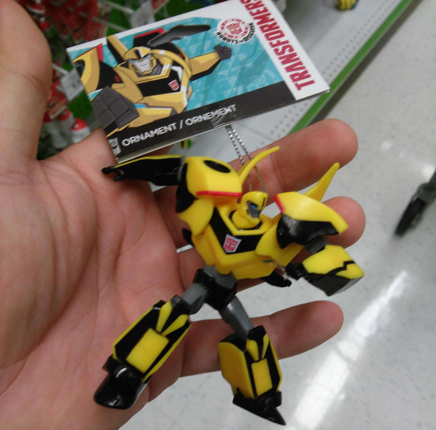 Transformers Robots In Disguise Bumblebee Ornament Found Retail