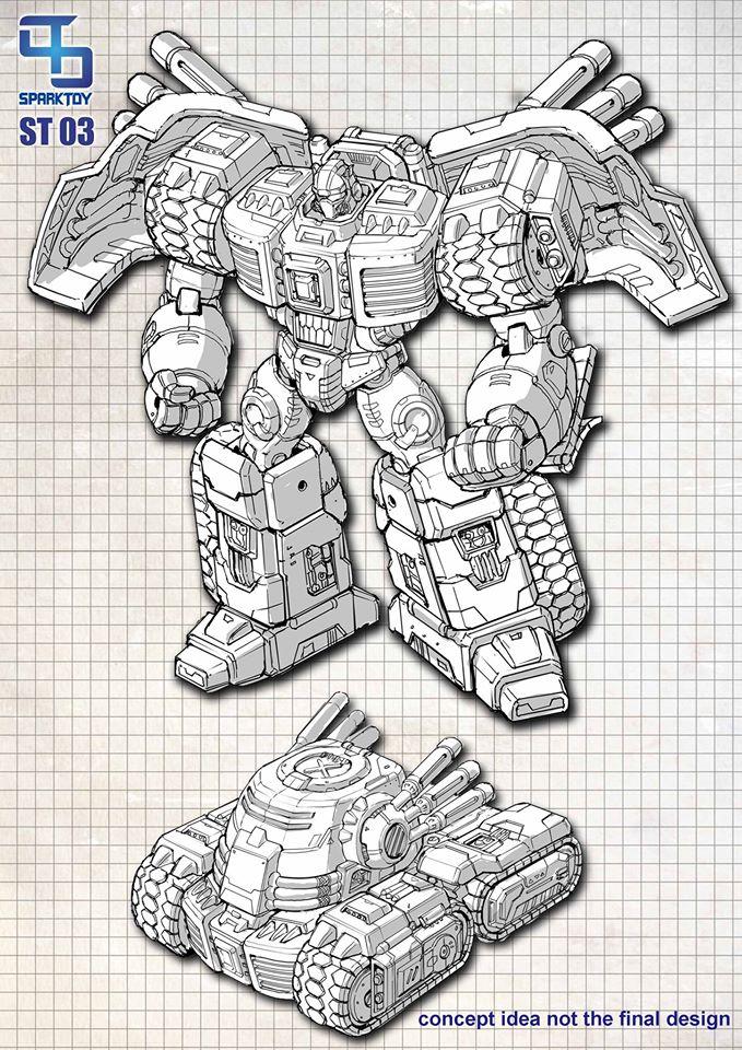 [SparkToys] Produit Tiers - ST - aka War Within: Optimus, Mégatron, Grimlock/La Menace, etc 12079813_862478973859779_5511761230974522444_o