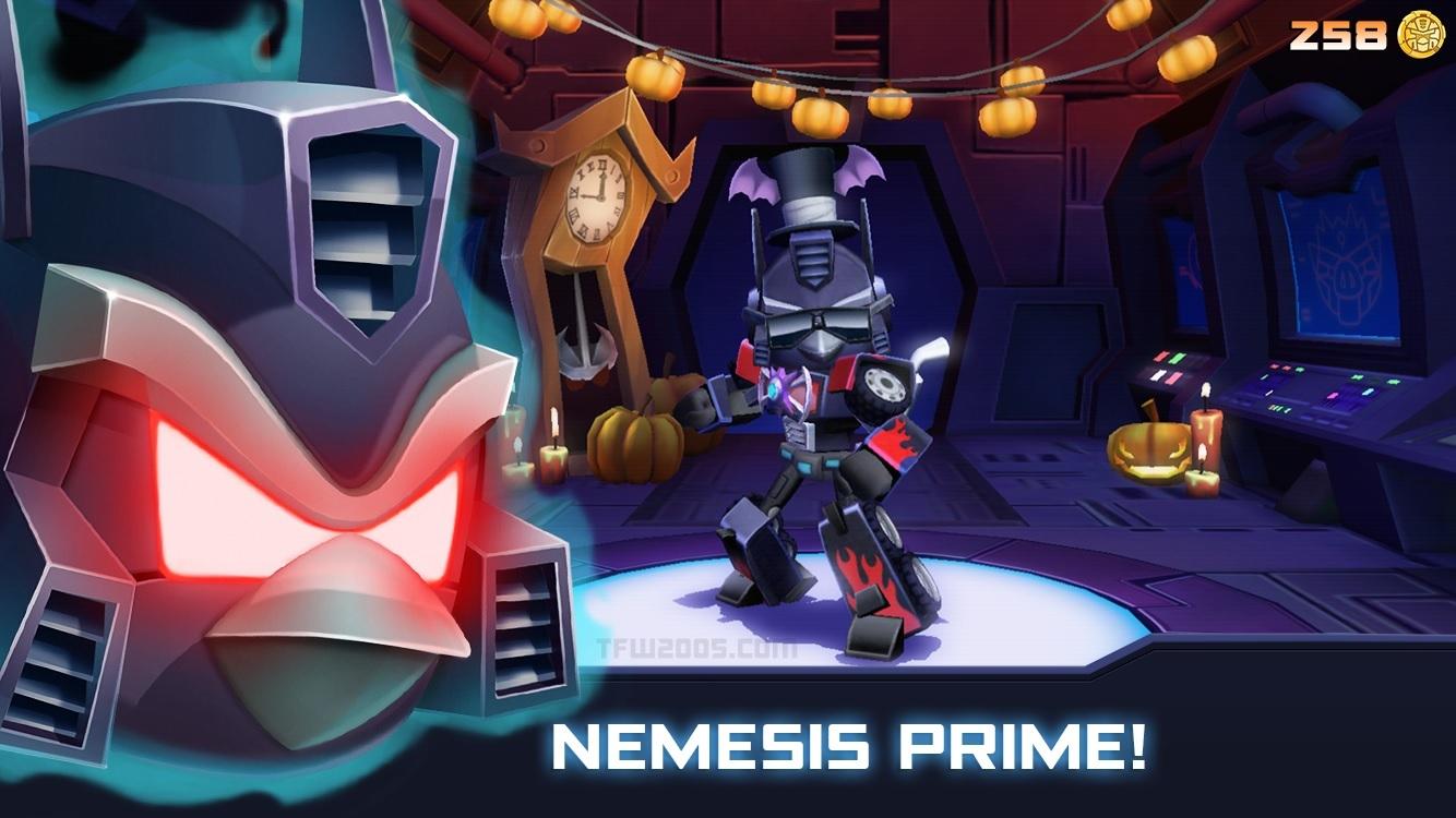 Angry Birds: Transformers - Halloween Update ...