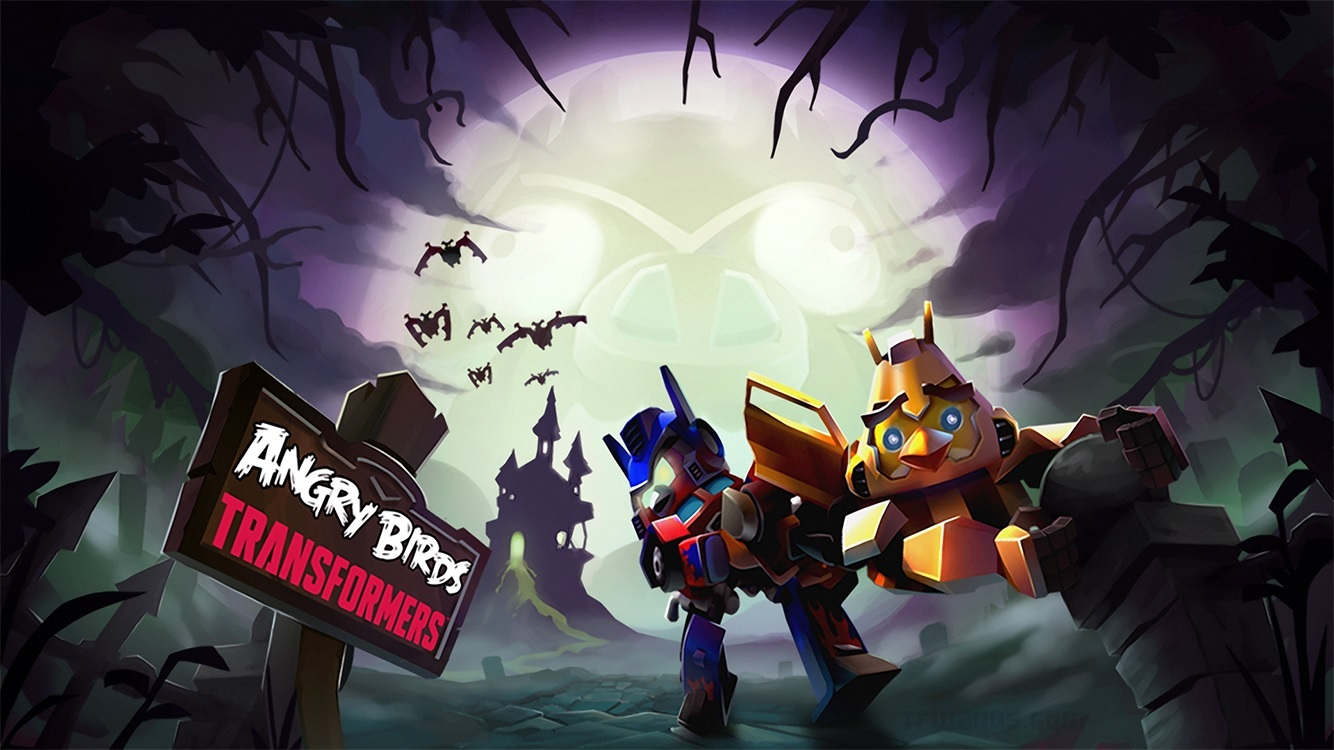 Angry Birds: Transformers - Halloween Update ...