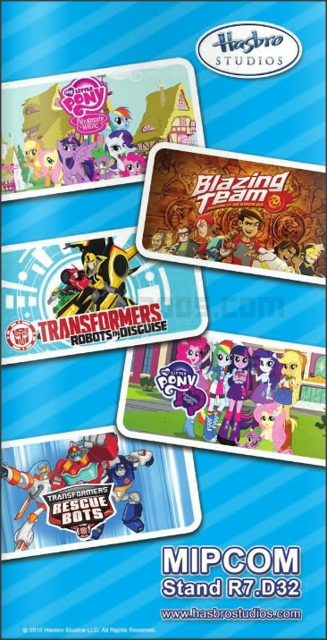 MIPJunior 2015 Transformers Robots In Disguise Season 2 Stall