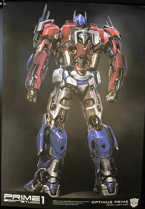 Statues des Films Transformers (articulé, non transformable) ― Par Prime1Studio, M3 Studio, Concept Zone, Super Fans Group, Soap Studio, Soldier Story Toys, etc - Page 3 Prime-1-Optimus-2