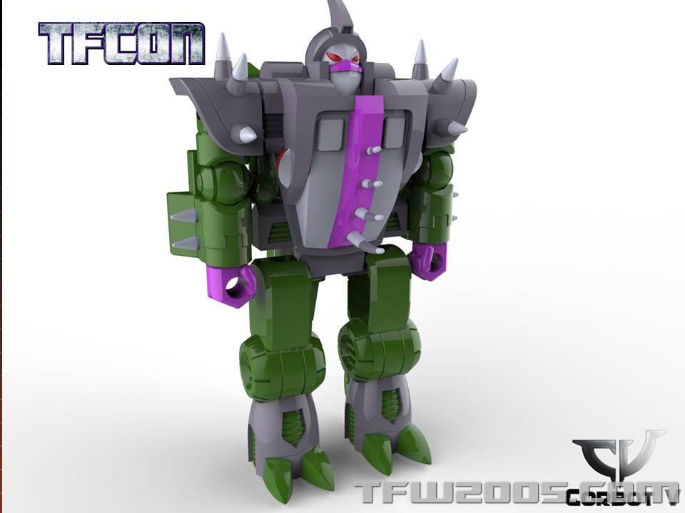 Produit Tiers: [Corbot V] CV-002 Mugger - aka Allicon | [Unique Toys] G-02 Sharky - aka Sharkticon/Requanicon TFCon-USA-2015-050