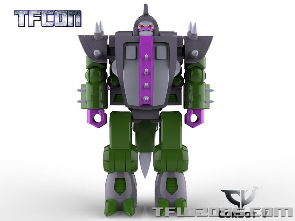 Produit Tiers: [Corbot V] CV-002 Mugger - aka Allicon | [Unique Toys] G-02 Sharky - aka Sharkticon/Requanicon TFCon-USA-2015-051