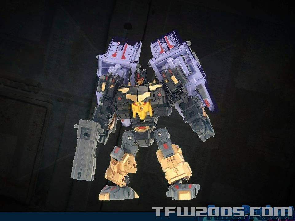 [FansProject] Produit Tiers - Jouet Saurus Ryu-oh aka Dinoking (Victory) | Monstructor (USA) TFCon-USA-2015-555