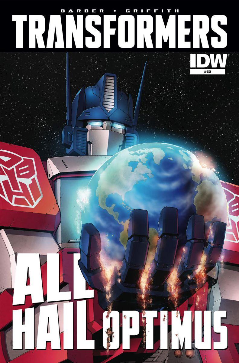 Transformers All Hail Optimus