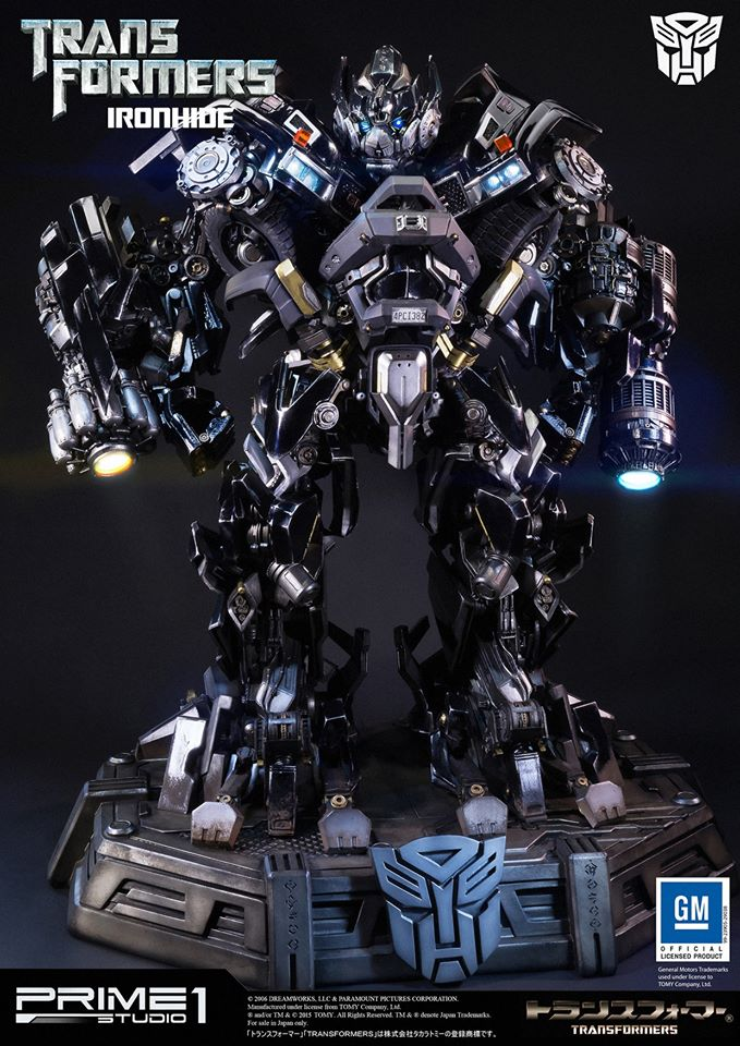 Prime 1 Studios Ironhide Statue Images And Information