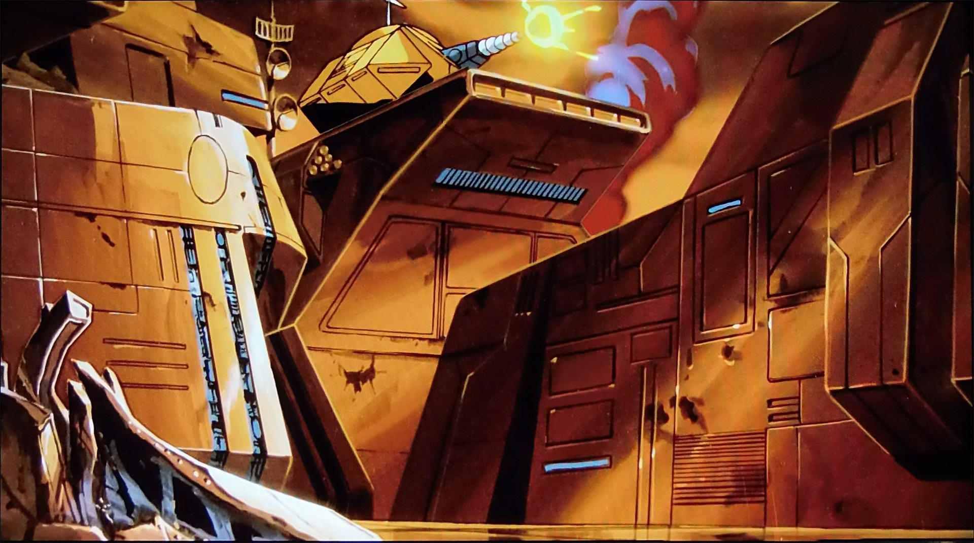 Transformers the movie cartoon