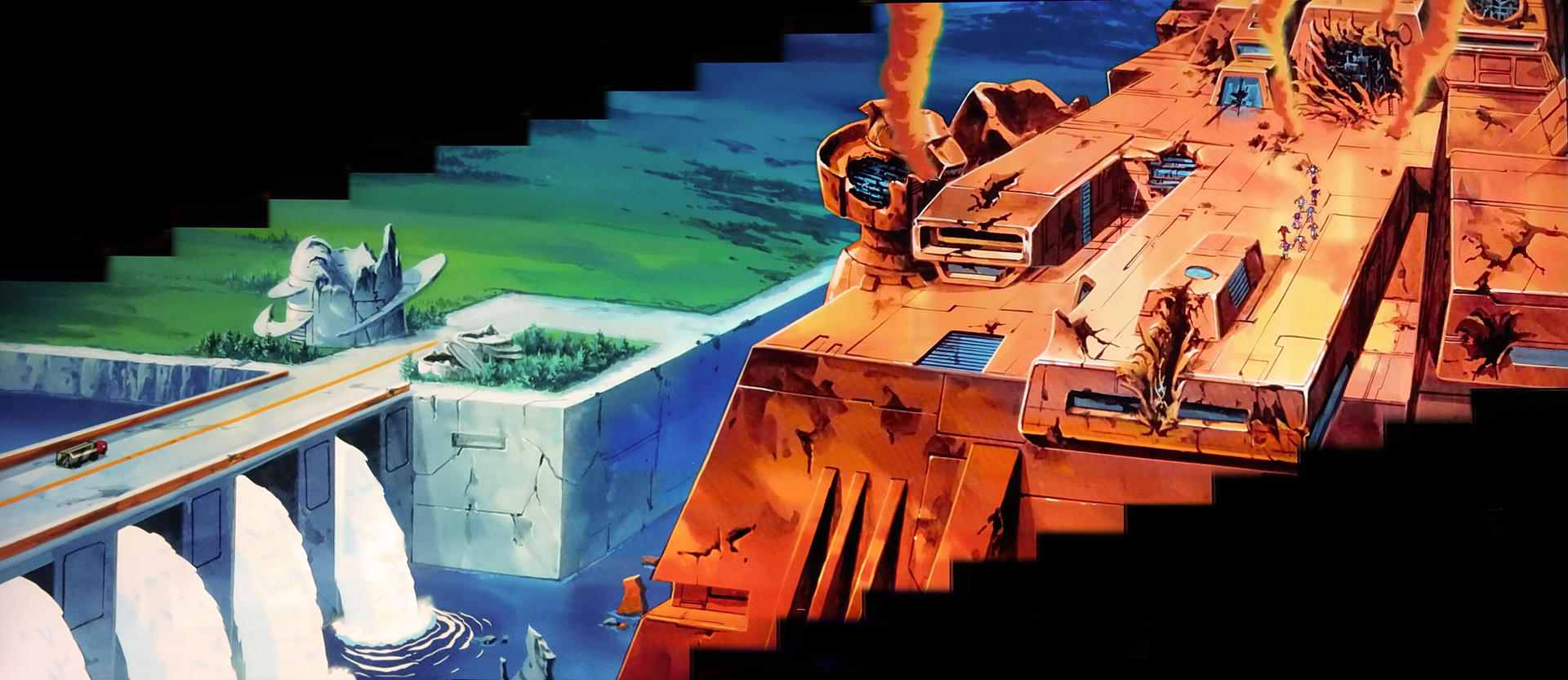 transformers the movie animation cels and backgrounds