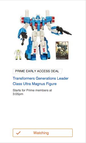 Great Combiner Wars Ultra Magnus Amazon Lighting Deal   Transformers News ...
