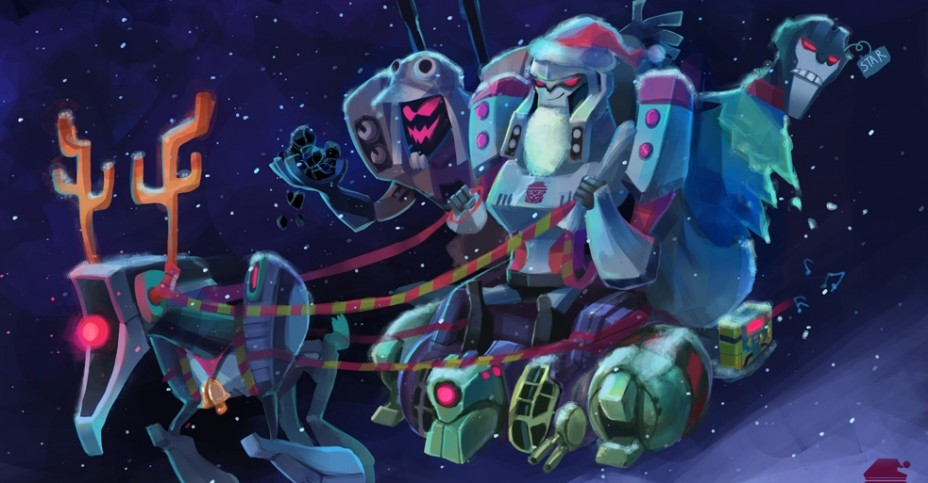 TF Animated Decepticon Santa