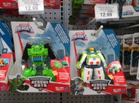 Rescue Bots Boulder and Medix Released 1