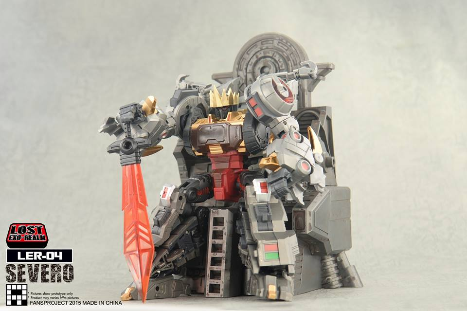 [FansProject] Produit Tiers - Jouets LER (Lost Exo Realm) - aka Dinobots - Page 2 Severo3