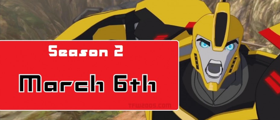Transformers: Robots In Disguise Season 2 Premieres March 6th