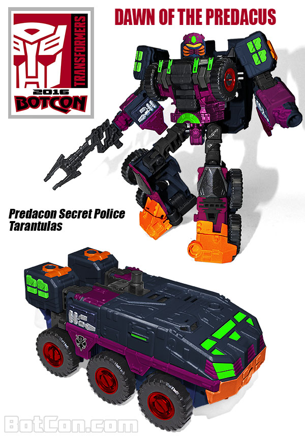 Jouets Transformers exclusifs: Collectors Club | TFSS - TF Subscription Service - Page 10 TarantulasREVEAL