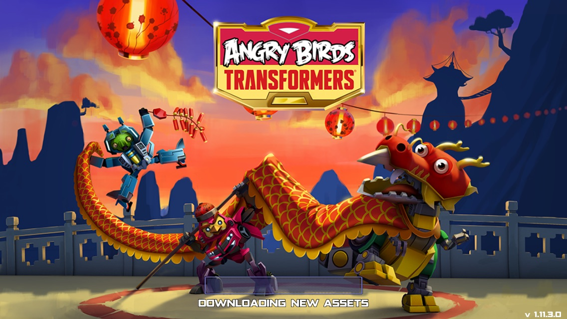 Angry Birds Transformers Updates Chinese New Year 309042