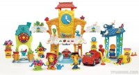 Play Doh Town 3 in 1 Town Center Playset Front
