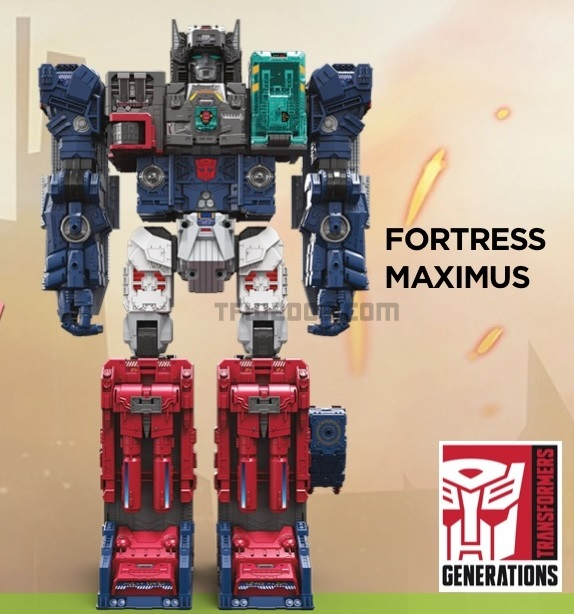 Transformers Hasbro Toy Fair 2016 Fortress Maximus