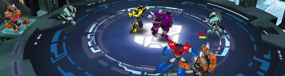 Transformers Robots In Disguise Autobots Unite Apple TV iOS 1