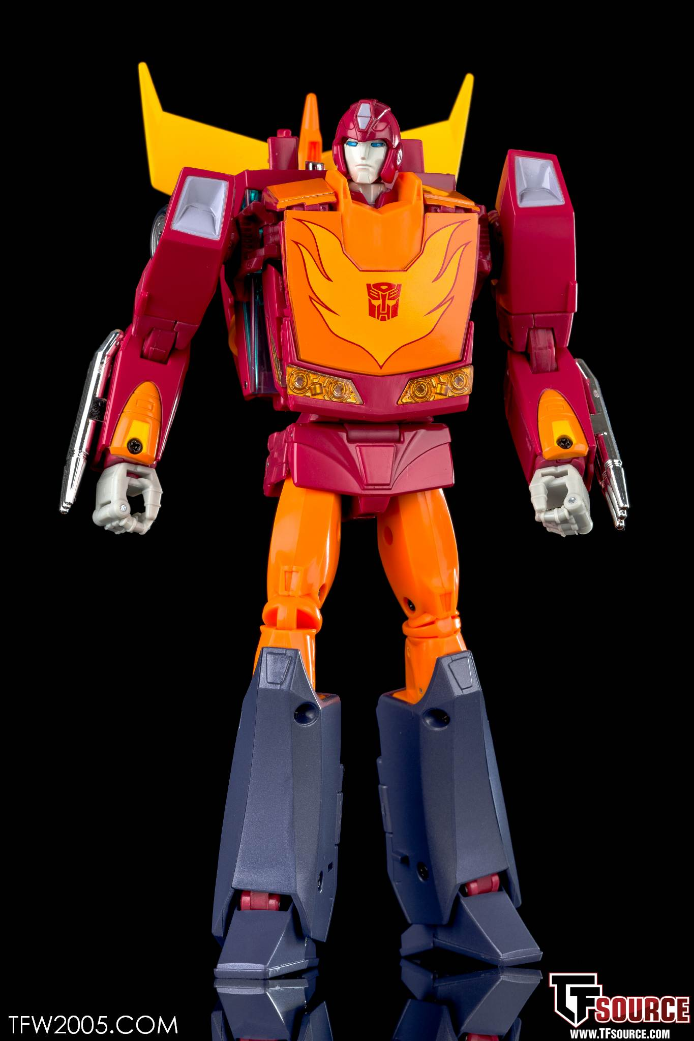 Mp 28 Hot Rodimus In Hand Gallery Transformers News