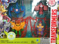 Robots in Disguise Mini Con Four Pack 3