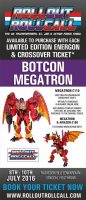 Roll Out Roll Call Botcon Megatron