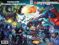 Transformers VS G I Joe Roll Out Roll Call Exclusive Cover