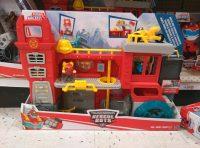 Rescue Bots Griffen Rock Firehouse set out at US retail