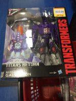 Titans Return Galvatron released in the UK