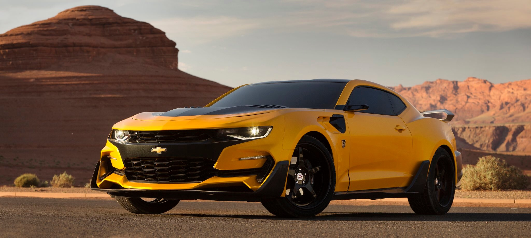 Transformers 5 Chevrolet Camaro Bumblebee 2016