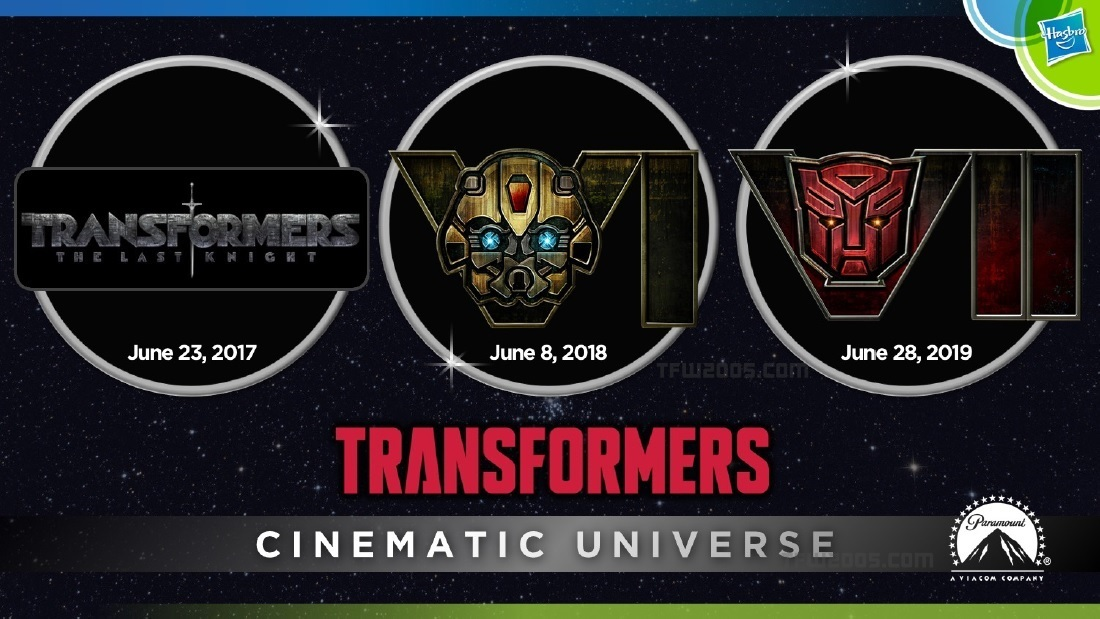 Transformers Cinematic Universe 1
