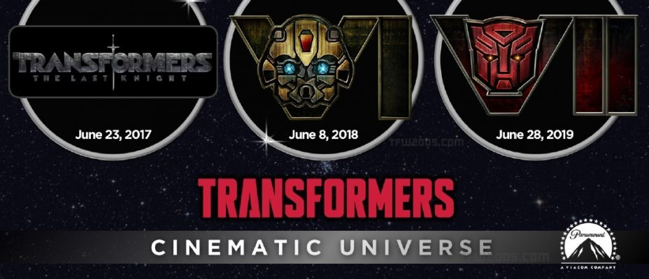 Hasbro Unveils Transformers Cinematic Universe - Transformers 6 And 7 Logos Revealed