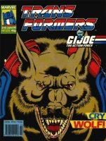 Marvel UK Transformers 272 Cover