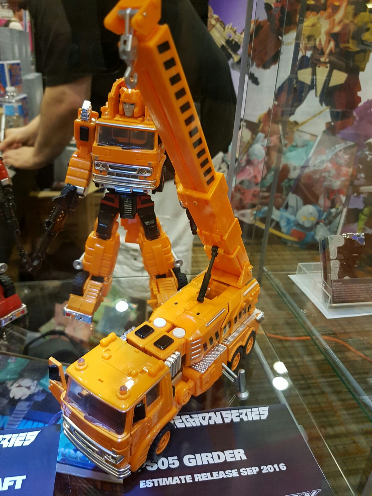 Transformers Ocular Max OX MMC Crane PS-05 Keff MP ratio