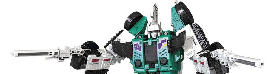 TRA GEN LEADER CLASS Six Shot Robot
